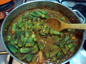 Okra us a superhealth food, but hardly a dish you easily find in restaurants in Greece